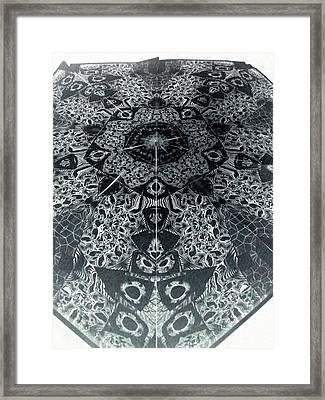 Grillo Inverse Framed Print