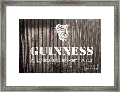 Guinness St. James Gate Brewery Dublin Framed Print