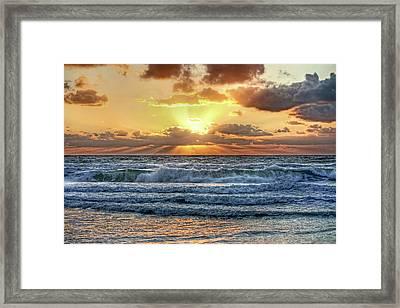 Gulf Waters Framed Print