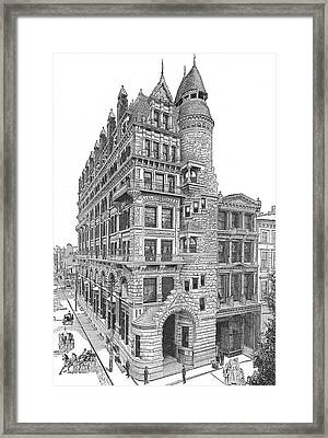 Hale Building Framed Print