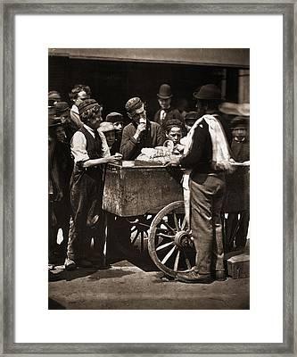Halfpenny Ices Framed Print by John Thomson