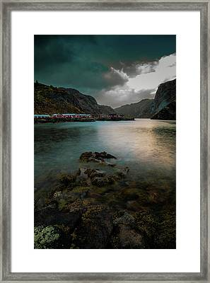 Hamnoy, Lofoten Islands Framed Print