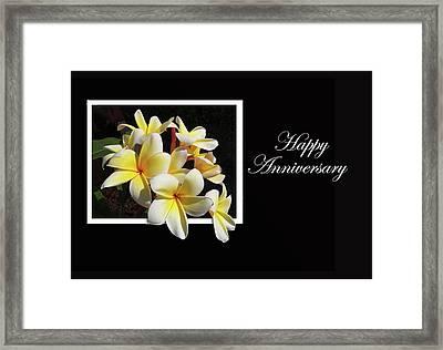 Happy Anniversary Framed Print