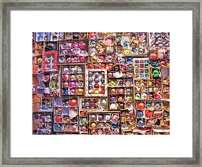 Happy Christmas Wishes Framed Print by JAMART Photography