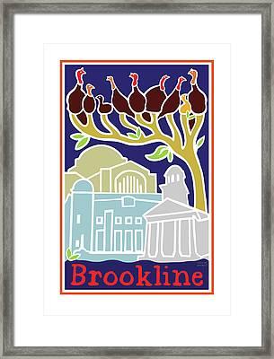 Happy Hanukkah Framed Print