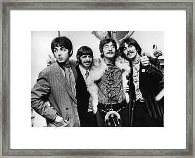 Happy Hearts Club Framed Print