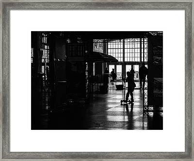 Happy Kid Framed Print