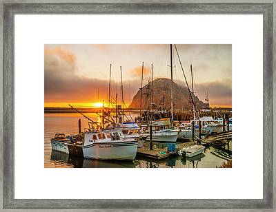 Harbor Framed Print by Fernando Margolles