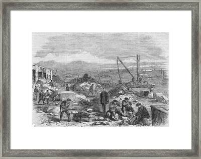 Hard Labour Framed Print by Hulton Archive