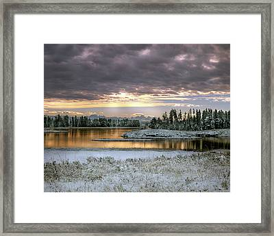 Harriman Winter Framed Print