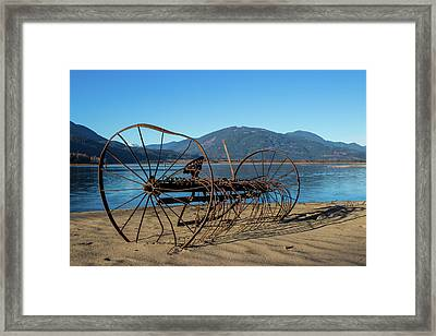 Harrison Lake Near Agassiz Framed Print