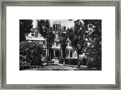 Hauteville House Framed Print by Hulton Archive