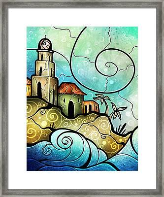 Havana Bay Framed Print