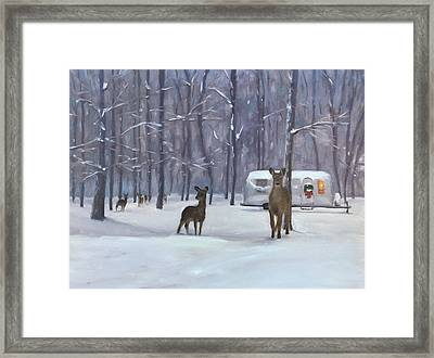 Have Yourself A Shiny Little Christmas Framed Print