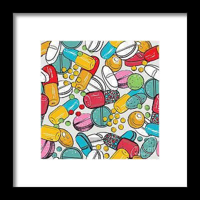 Drug Framed Prints