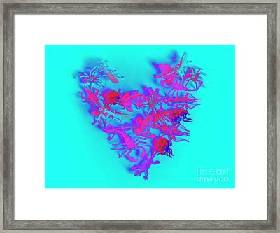 Heart Of The Wild Framed Print