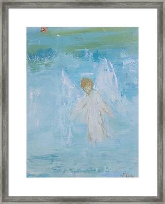 Heavenly Angel Child Framed Print