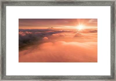 Heavenly Diablo Framed Print by Vincent James