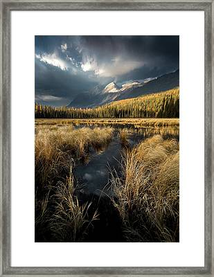 Heaven's Breath / Whitefish, Montana  Framed Print