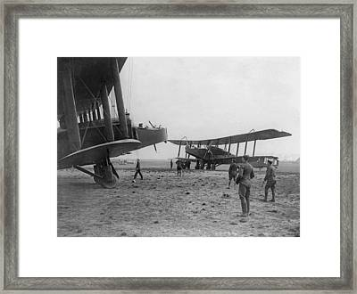 Heavy Bombers Framed Print by Hulton Archive