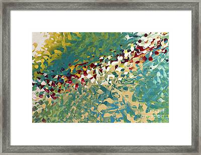 Hebrews 12 11. The Trials Of Discipline Framed Print