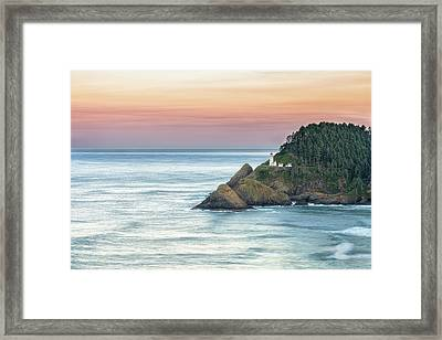 Heceta Lighthouse Framed Print