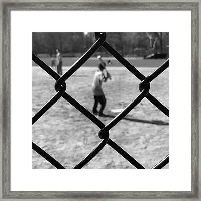 Heckscher Ballfields Framed Print