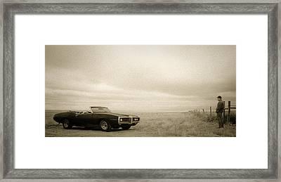 High Plains Drifter Framed Print