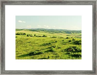 Hill Framed Print by Yorkfoto