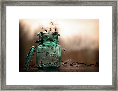 Framed Print featuring the photograph His Cup Runneth Over by Michelle Wermuth