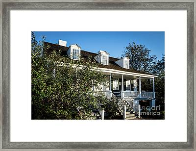 Historic Meadow Garden Augusta Ga Framed Print