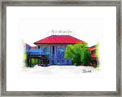 Historic Rio Grande Station Framed Print