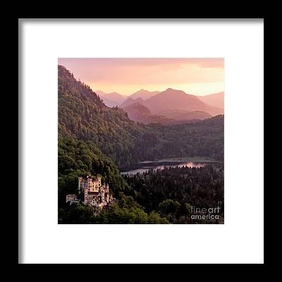 Schloss Framed Prints