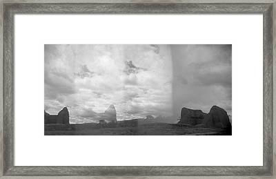 Holga Triptych 4 Framed Print