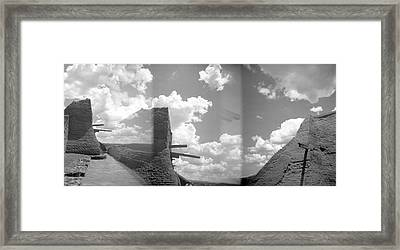 Holga Triptych 5 Framed Print