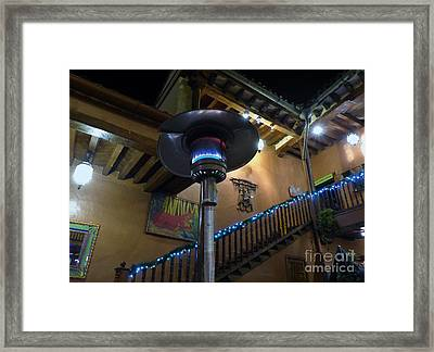 Framed Print featuring the photograph Holiday Dining In Patzcuaro by Rosanne Licciardi