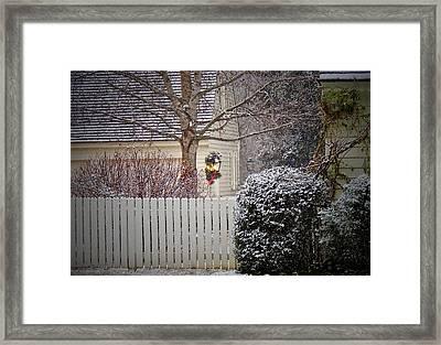 Holiday Lantern Framed Print