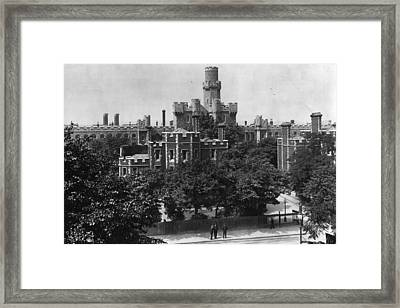 Holloway Prison Framed Print by Hulton Archive