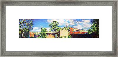 Home In The Valley Framed Print