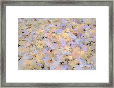 Home Leaves3 Framed Print