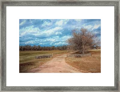 Home On The Range Framed Print