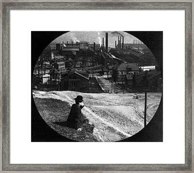 Homestead Steel Works Framed Print by Hulton Archive