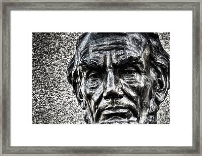 Honest Abe Framed Print