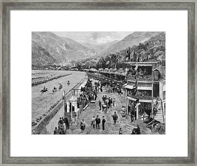 Hong Kong Derby Framed Print by Hulton Archive