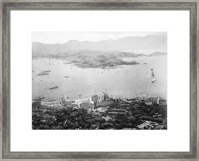 Hong Kong Framed Print by Hulton Archive