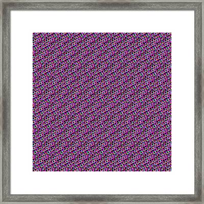 Framed Print featuring the digital art Hoops And Loops by Bee-Bee Deigner