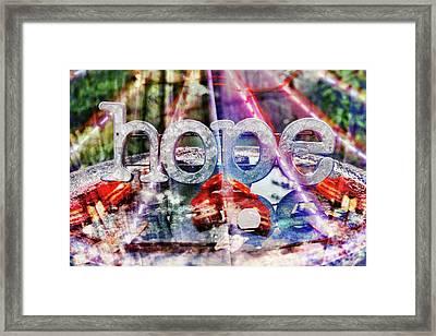 Hopeful Framed Print