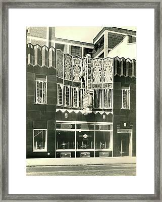 Horn And Hardart, S 18th St., Philadelphia Framed Print