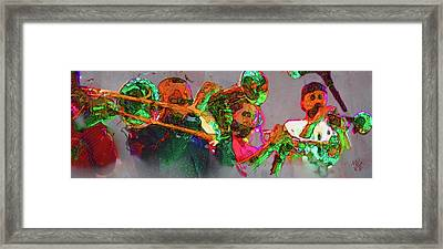 Horn Section Framed Print