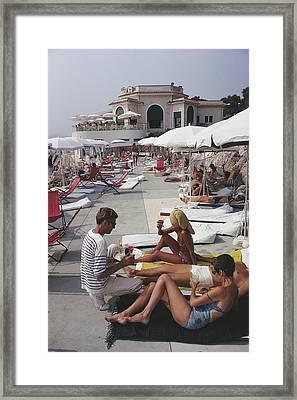 Hotel Du Cap Framed Print